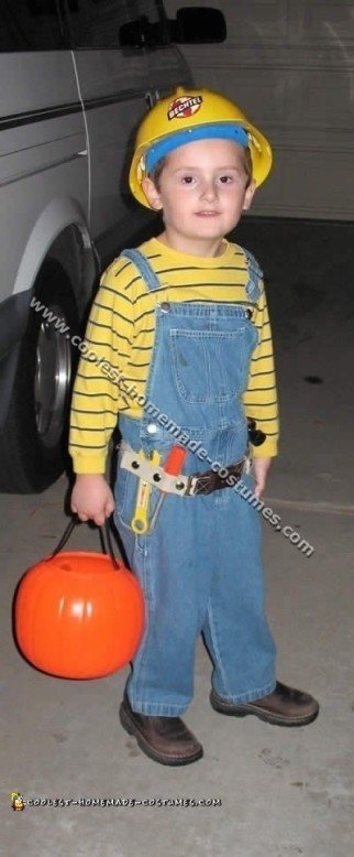 Coolest Homemade Bob the Builder Costume Ideas
