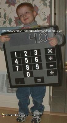 Calculator Costume