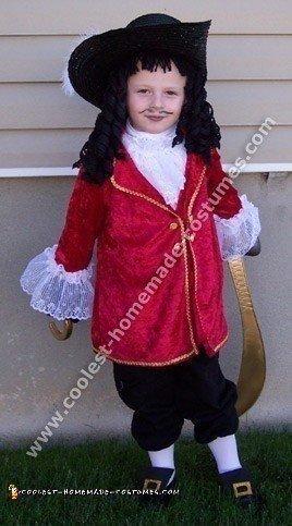 Coolest Homemade Captain Hook Costume Ideas