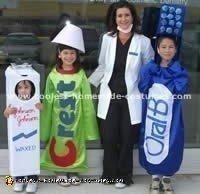 Cheap Costume Idea - Dental Floss