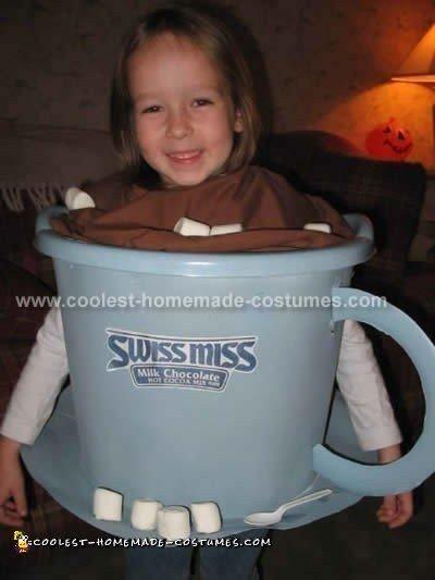 Swiss Miss Hot Chocolate Costume
