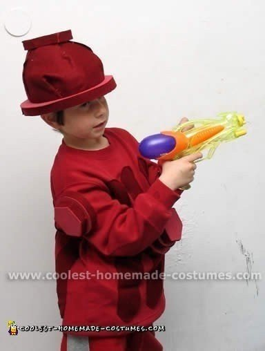 Fire Hydrant Child Costume