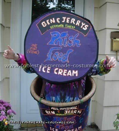 Ice Cream Children Costume