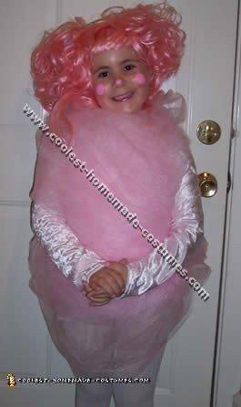 Cotton Candy Children Halloween Costumes