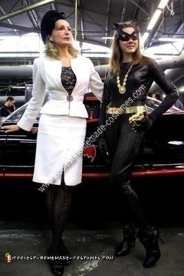 Classic 1966 Batman TV Series Catwoman Costume