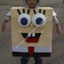 Homemade Spongebob Child Halloween Costume Idea