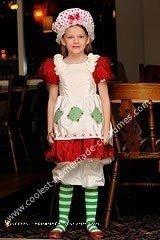 1980's Strawberry Shortcake Homemade Costume