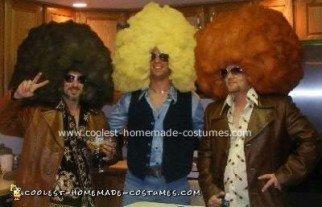 Homemade 70s Theme Costumes