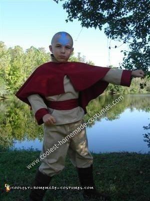 Aang Avatar The Last Airbender (Cartoon Version) Halloween Costume