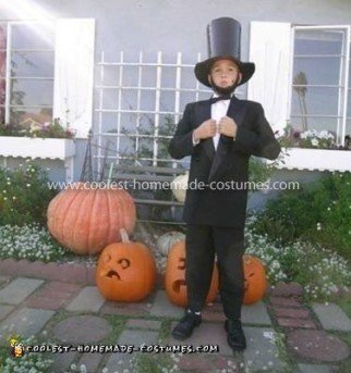 Homemade Abraham Lincoln Costume