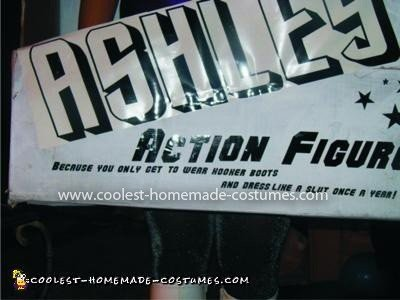 Homemade Action Figure in a Box Costume