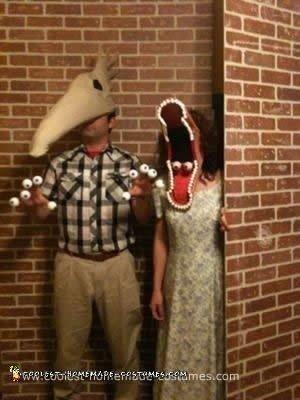 Homemade Adam and Barbara Maitland Couple Costume