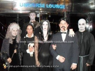 Addams Family Group Costume
