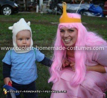Homemade Adventure Time Family Costume
