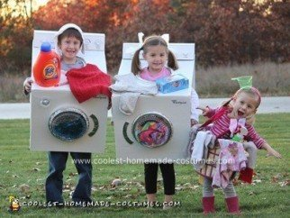 Dirty Laundry Group Costumes