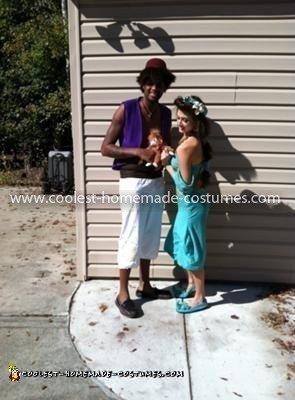 Coolest Aladdin and Jasmine Couple Costume 5