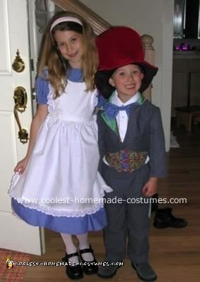 Alice and the Mad Hatter Costumes