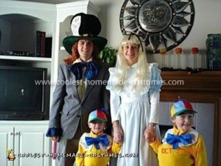 Coolest Alice in Wonderland Family Costume