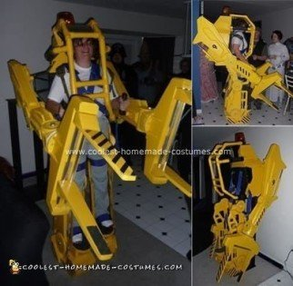 Homemade Aliens Powerloader Costume