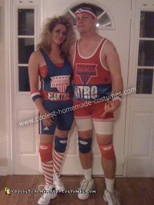 American Gladiators Couples Costume