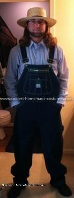 Homemade Amish Costume