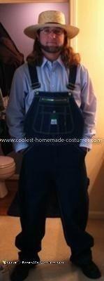 Homemade Amish Costume