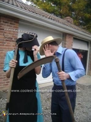 Amish Couple Costume