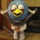 Homemade Angry Birds Iowa Style Costume