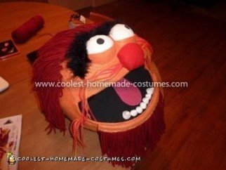 Coolest Animal Muppets Costume - Finished mask