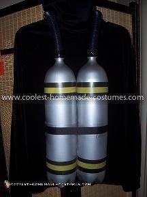 Coolest Aquarium Scuba Diver Costume 9