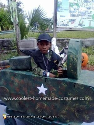 Coolest Army Soldier Tank Costume 21