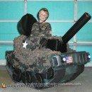 Homemade Army Tank Costume