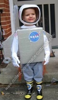 Astronaut Homemade Halloween Costume