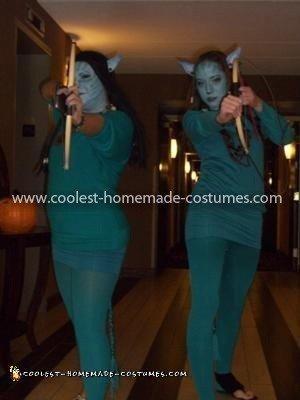 Homemade Avatar Halloween Costume