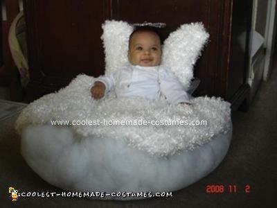 Homemade Baby Angel Costume