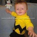 Homemade Baby Charlie Brown Costume