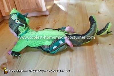 Coolest Baby Dragon Costume