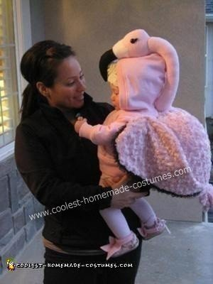Baby Flamingo DIY Costume