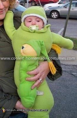 Coolest Baby Glowworm Costume