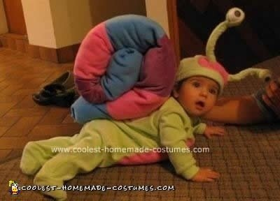 Homemade Baby Snail Costume