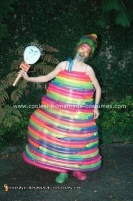 Homemade Balloon Lady Costume