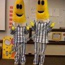 Bananas in Pajamas DIY Couple Halloween Costume