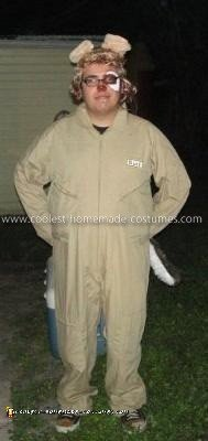 Homemade Barf Costume from Spaceballs