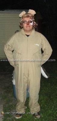 Homemade Barf Costume from Spaceballs