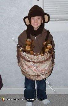 Homemade Barrel of Monkeys Halloween Costume