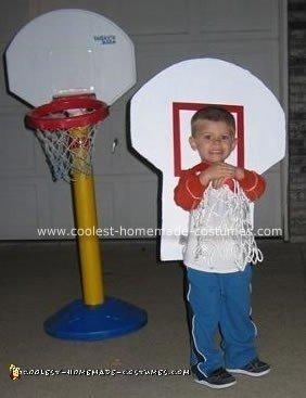 Basketball Goal Costume