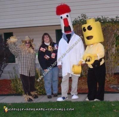 Beeker Homemade Halloween Costume