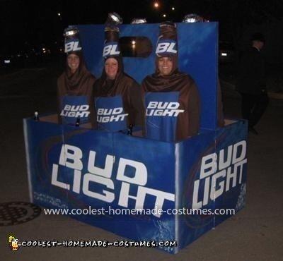 Coolest Beer Bottles Costume