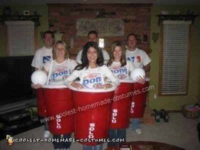 Coolest Beer Pong Group Costume