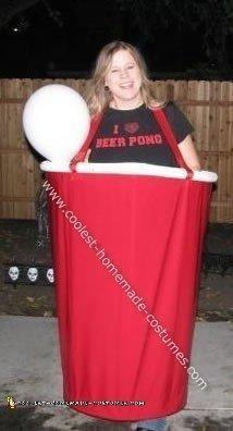 Beer Pong Halloween Costume